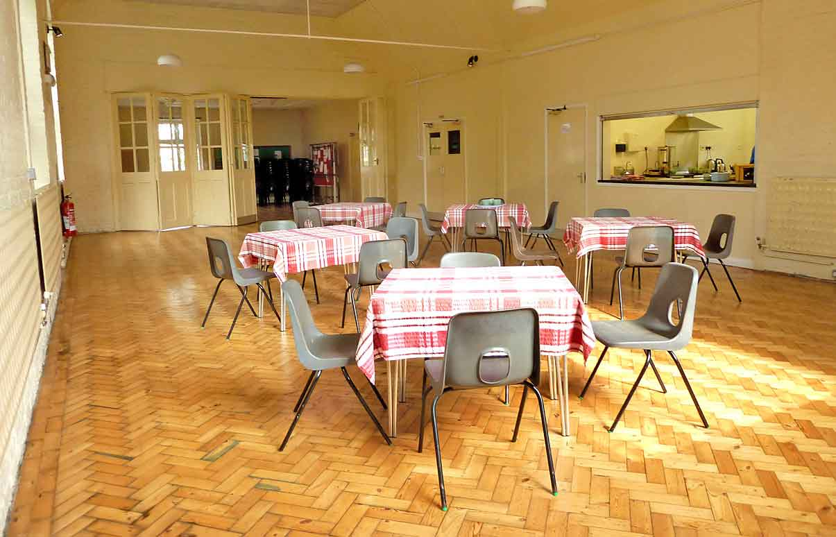 church Hall for Hire in Sandwich, Kent